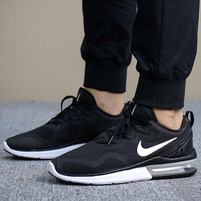 Nike Air Max Fury 氣墊 跑鞋 黑白 男鞋AA5739-001