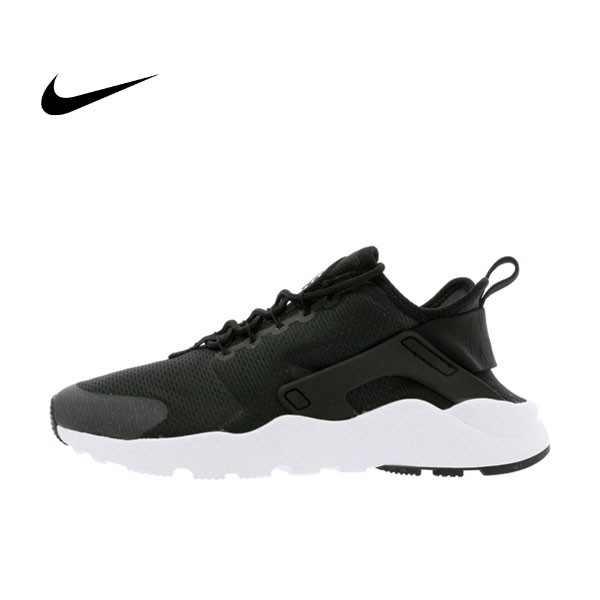 NIKE W AIR HUARACHE RUN ULTRA 二代武士 黑白 慢跑鞋 情侶鞋 819151-008