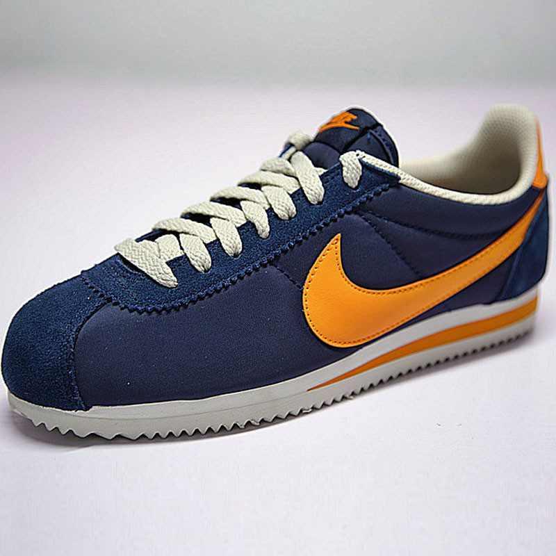 情侶鞋 Nike Classic Cortez 復古 阿甘 百搭 深藍橘黃 488291-410