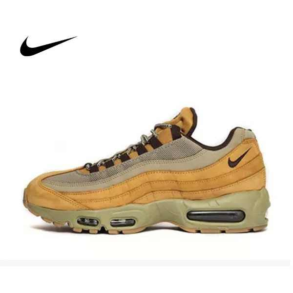 NIKE AIR MAX 95 PRM LEATHER WINTER WHEAT 土黃 卡其 全氣墊 男鞋 538416-700