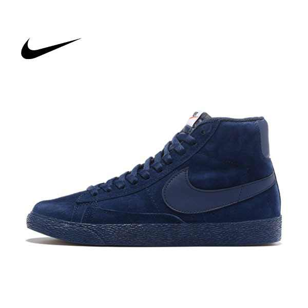 NIKE BLAZER LOW PRM VNTG  復古 深藍 麂皮 防滑 男鞋