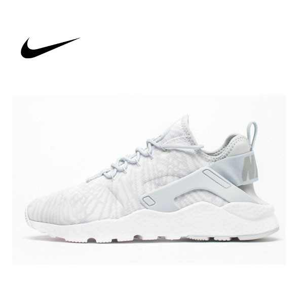 NIKE AIR HUARACHE RUN ULTRA JACQUARD 斑馬紋 跑步鞋 情侶鞋818061-100