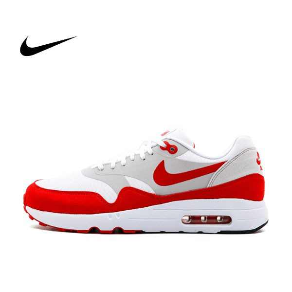 Nike Air Max 1 Ultra 2.0 LE 男鞋 無縫 白紅 908091 100