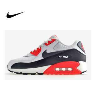 3f215a3d7e95efac 300x300 - NIKE AIR MAX 90 ESSENTIAL 皮革 網布 慢跑鞋 男 537384-126