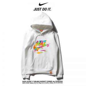 4028946eccaaea71 300x300 - Nike 薄款 時尚帽t 寬鬆 長袖 套頭 百搭衛衣 情侶款
