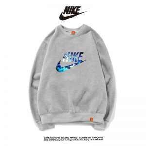 4221880b27fccab0 300x300 - Nike男女款 百搭長袖 純棉 薄款 春秋 時尚大學t 經典衛衣 灰藍