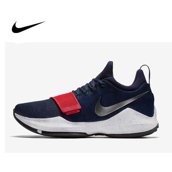 Nike PG 1 USA 深藍 紅白 籃球鞋 男 878628-900