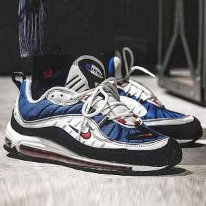 42e6f704133f7ac0 300x300 - Nike Air Max 98 復古 氣墊 百搭 慢跑鞋 男鞋 深藍寶 藍白紅 640744-064