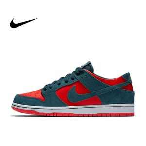 4770a5d46b602a33 300x300 - NIKE SB ZOOM DUNK LOW PRO 藍綠橘紅 軟皮 男鞋 854866-336