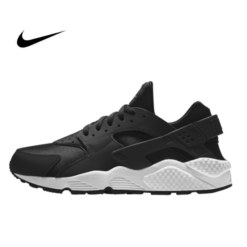NIKE AIR HUARACHE RUN Triple Black 一代黑武士 運動鞋 黑魂 休閒鞋 慢跑鞋 情侶 奥利奥