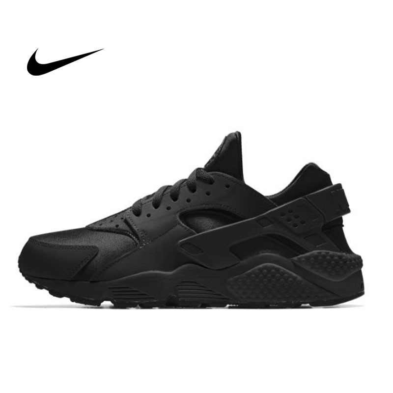 NIKE AIR HUARACHE RUN Triple Black 黑武士 運動鞋 黑魂