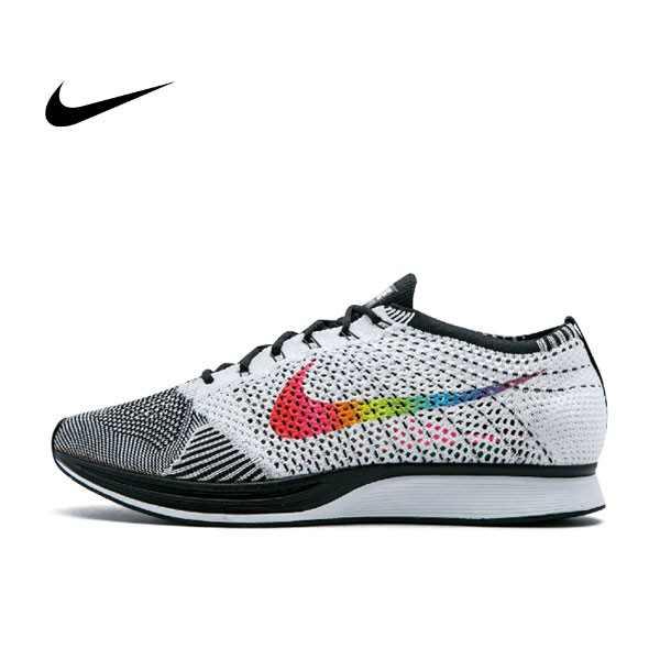 Nike Flyknit Racer Betrue 七彩鉤 針織 男鞋 902366 100