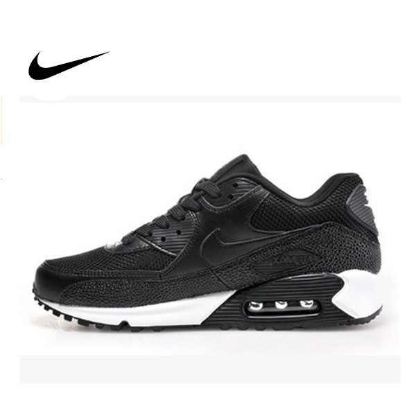 AIR MAX 90 基本 網面 黑白 麂皮 男鞋 537384-077