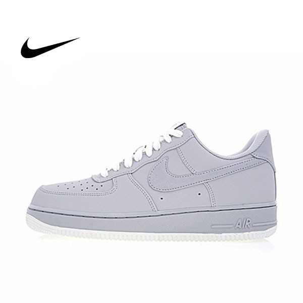 """Nike Air Force 1 Low 空軍一號經典低筒板鞋""""Wolf Grey""""狼灰白 男鞋 820266-016"""