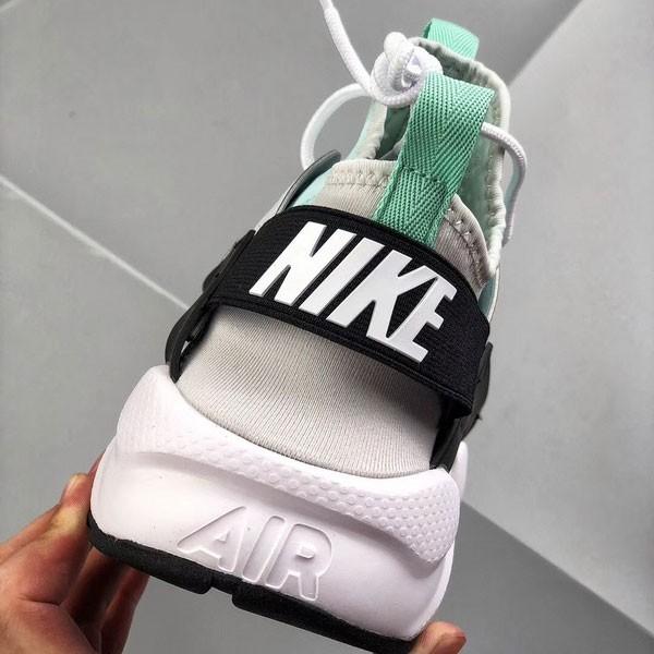 584def5841a0dc7b - Nike air huarache run ultra white textile 華萊士四代 白灰薄荷綠-最夯商品❤️
