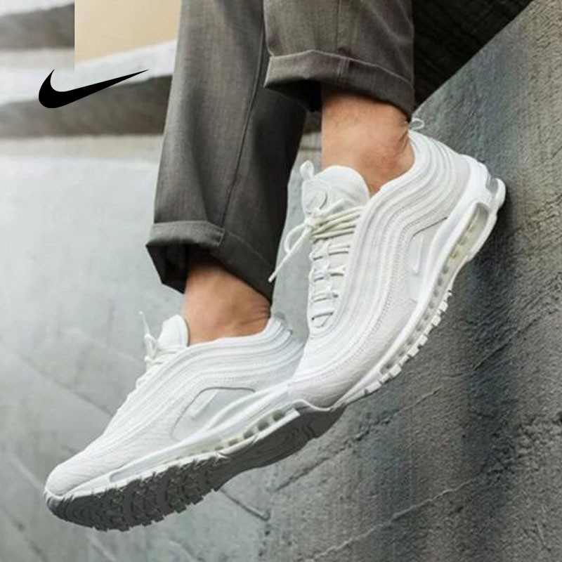 Nike Air Max 97 經典 純白 氣墊 減震 男女鞋 921826-101