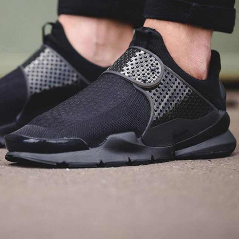 NIKE SOCK DART SE DARK GREY 全黑 襪子 情侶鞋 819686-001