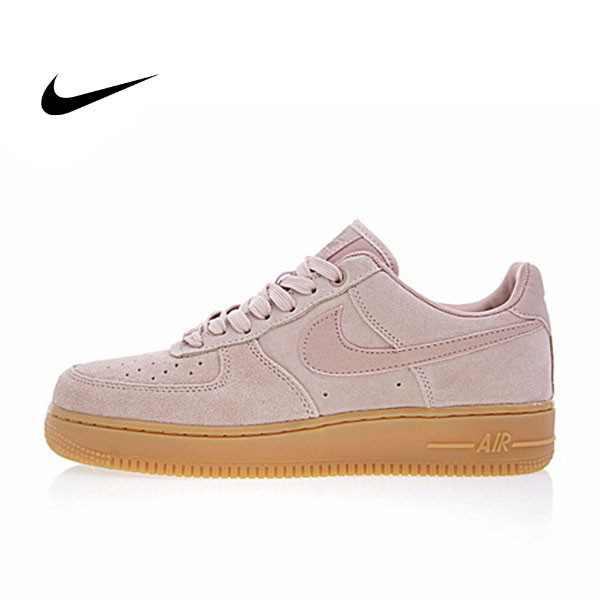 NIKE AIR FORCE 1 07 SE 女鞋 玫瑰粉 粉色 AA0287-600