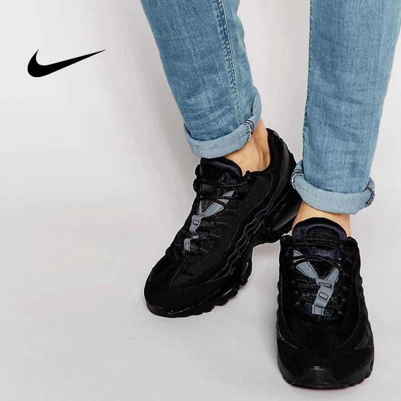 NIKE AIR MAX 95 全黑武士 黑魂 情侶 氣墊運動跑步鞋 609048-092