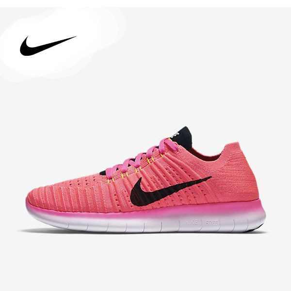 Nike Wmns Free RN Flyknit 粉紅 訓練 輕量化 女鞋 831070-600