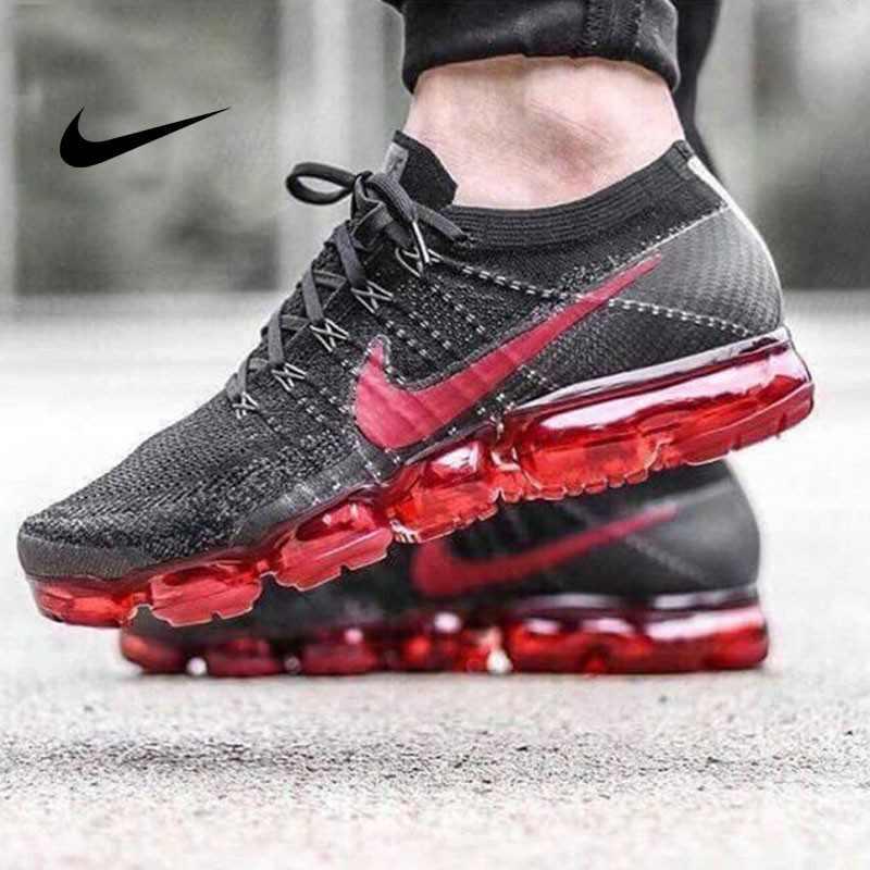 Nike Air VaporMax Flyknit 2018 大氣墊 黑紅 男鞋 經典款849558-013