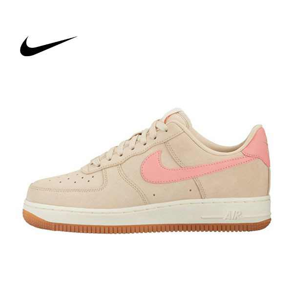 Nike Wmns Air Force 1 07 Seasonal 女 米白 粉紅 百搭 818594-100