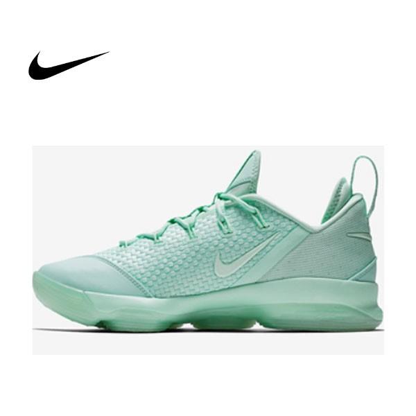 NIKE LEBRON 14 LOW 薄荷綠 編織 低筒 籃球鞋 男 878635-300