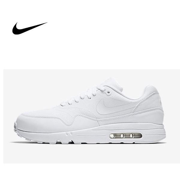 NIKE AIR MAX 1 ULTRA 2.0 全白 慢跑鞋 男 875679-100