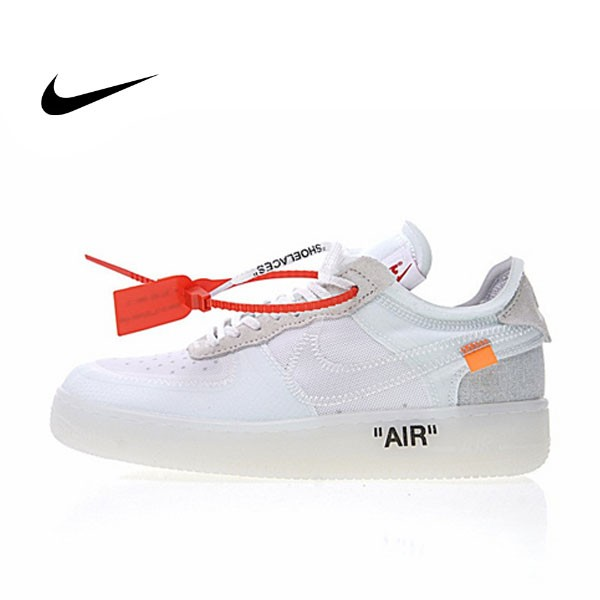 Off White x Nike Air Force 1 Low 透灰白 男鞋A04606-100