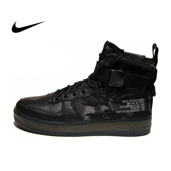 AIR FORCE 1 MID 特種 機車 短靴鞋運動鞋 男 7345 - 001