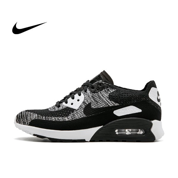 Nike W Air Max 90 Ultra 2.0 Flyknit 黑灰 針織 情侶鞋 881109 002 875943 001