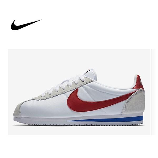 ISNEAKERS NIKE CLASSIC CORTEZ OG 阿甘45週年 紅白藍 麂皮 情侶鞋 876873-101