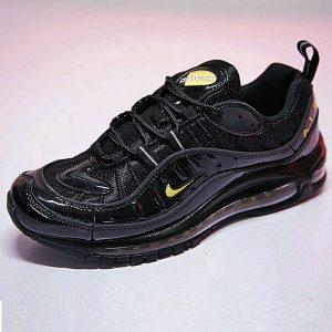 6c30988ef70274f1 300x300 - 男鞋 Nike Air Max 98 復古 氣墊 百搭 慢跑鞋 黑黃 640744-080