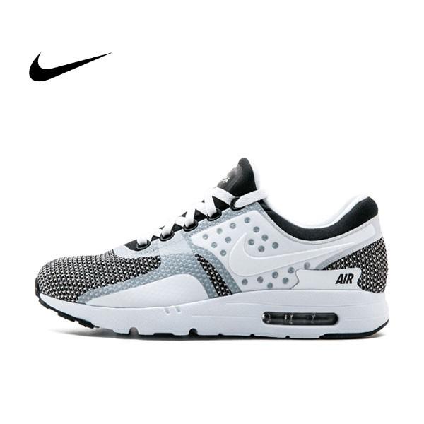 NIKE AIR MAX ZERO ESSENTIAL 休閒 運動鞋 白黑 男鞋 876070-005