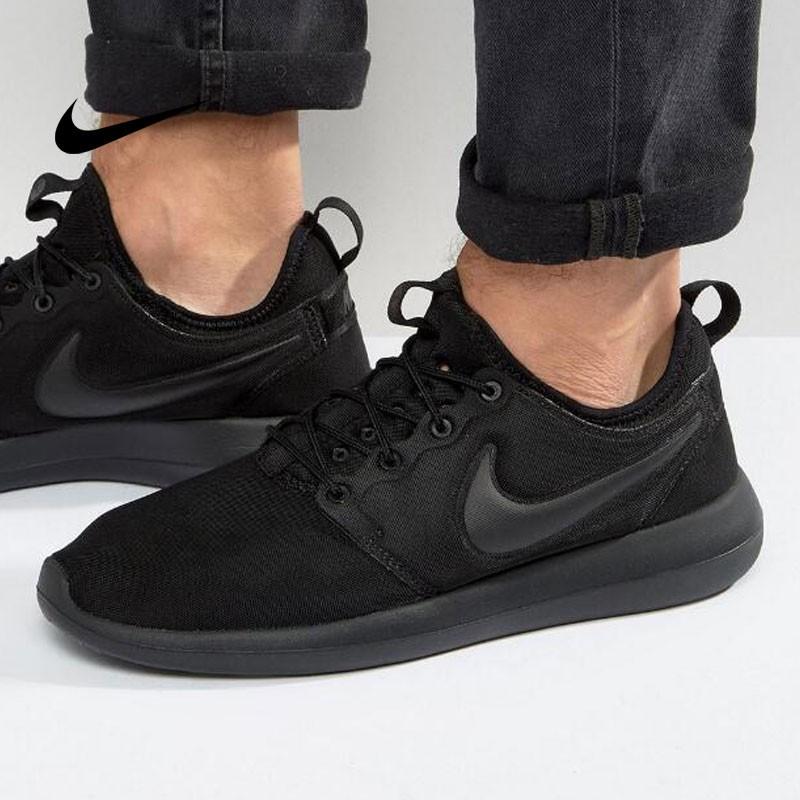 Nike Roshe Two 男 全黑 2代 復古 慢跑 休閒鞋 844656-001