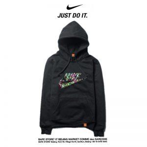 73f3a065637625f9 300x300 - Nike 2018春秋薄款 寬鬆 長袖 連帽衛衣 套頭 休閒 情侶款