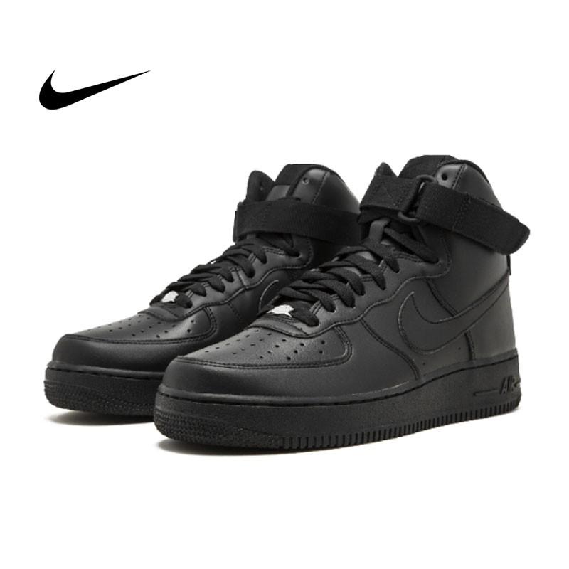 Nike Air Force 1 High 07 純黑 高筒 板鞋 315121 03