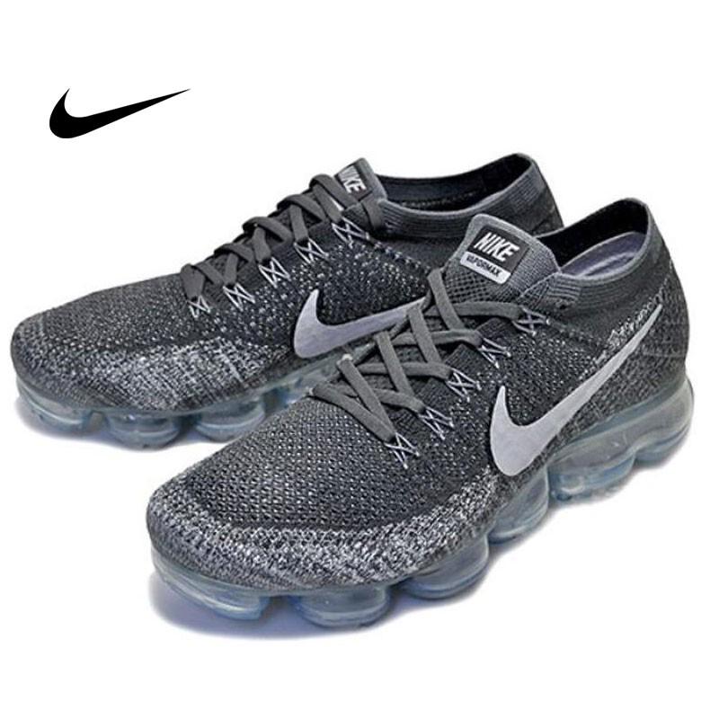 Nike AIR VAPORMAX 男女 雪花灰 輕量 氣墊透明底 慢跑鞋 849557-002