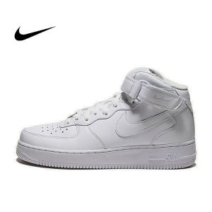 76f0bfd4a7865afa 300x300 - NIKE AIR FORCE 1 MID 冬季 情侶 全白 高筒 315123-111