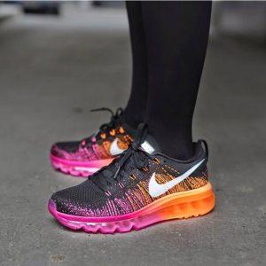785f2232234747ce 300x300 - Nike Flyknit Max 飛線 氣墊 女鞋 黑粉紅