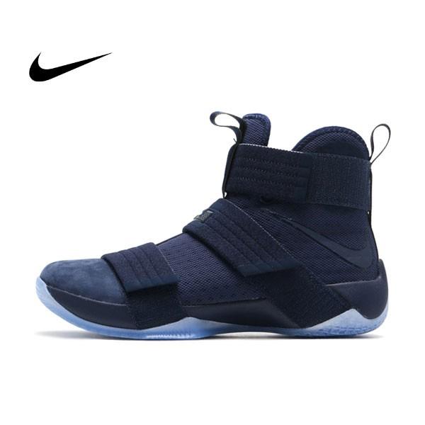 NIKE LEBRON SOLDIER 10 SFG 藍色 透明底 防滑 耐磨 士兵 籃球鞋 男 852400-444