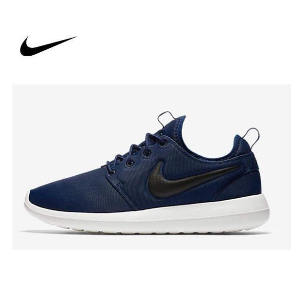 Nike Roshe Two 男 深藍白 2代 復古 慢跑 休閒鞋 844656-400