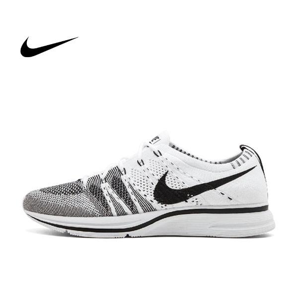 Nike Flyknit Trainer白黑 情侶鞋 飛線 AH8396 100