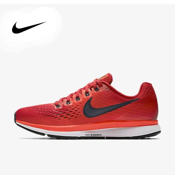 Nike Air Zoom Pegasus 34 880555-600 馬拉鬆 大網 透氣 訓練鞋 男鞋