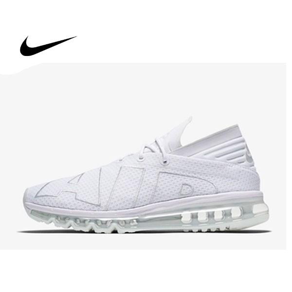NIKE AIR MAX FLAIR 男鞋 全白 全氣墊 大AIR 942236-002