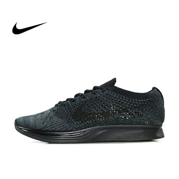Nike Flyknit Racer 全黑 黑武士 情侶 飛線 針織  526628-009