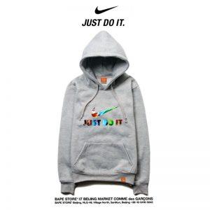 8fdd1cf0c4f334ab 300x300 - Nike 薄款 寬鬆 長袖 連帽衛衣 套頭 休閒 帽t 情侶款 灰色