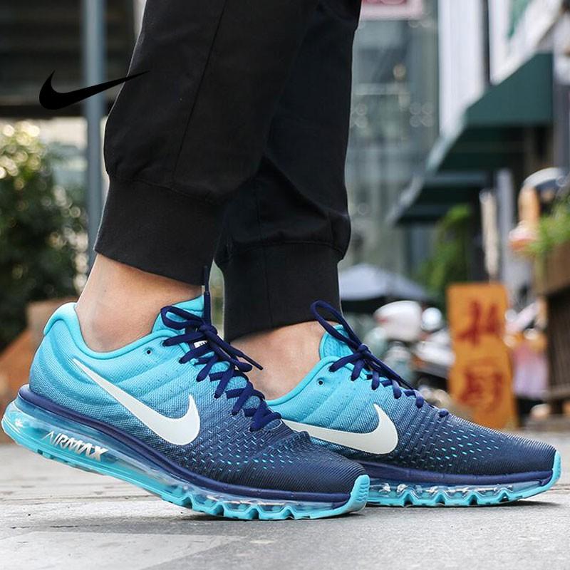 Nike AIR MAX 2018 849559-404 輕量 氣墊 反光 網布 透氣 藍綠 男鞋