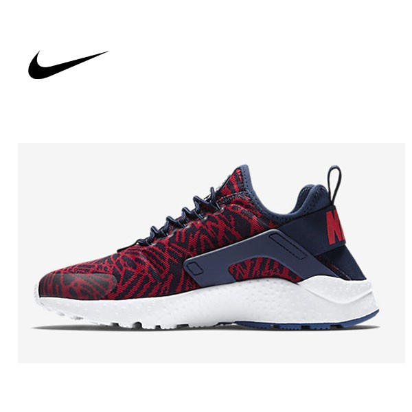 NIKE AIR HUARACHE RUN ULTRA JACQUARD 斑馬紋 情侶 跑步鞋818061-400