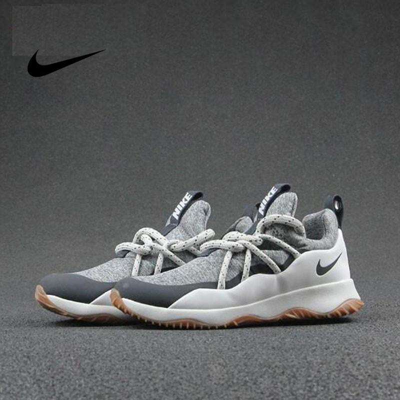 Nike WMNS City Loop 粗綁帶 女神 百搭 慢跑鞋 深灰白棕 AA1097-100